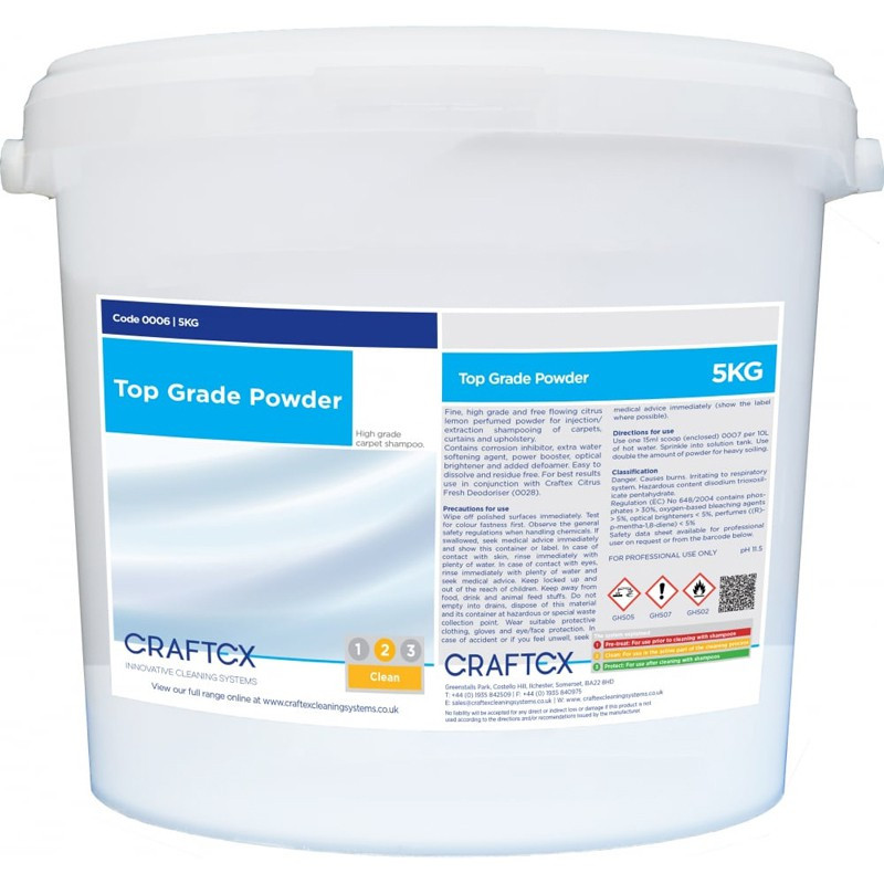 Craftex Top Grade Powder - 5Kg