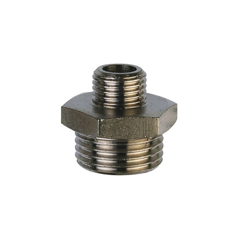"""Brass male reducer 3/4"""" to 1/2"""""""