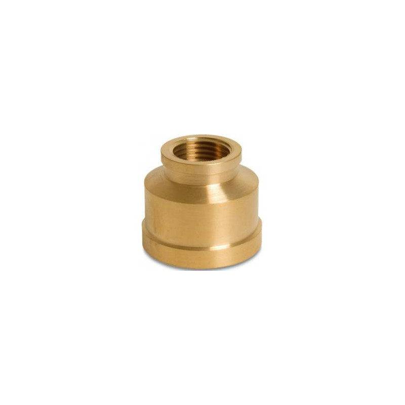 "Brass Reducing socket 3/4"" to 1/4"""
