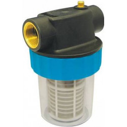 Cartridge filter for transfer pumps
