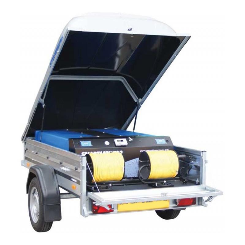 400L SMARTANK Trailer RO/DI System Complete Double operators