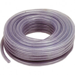 30m braided clear hose 1/2""