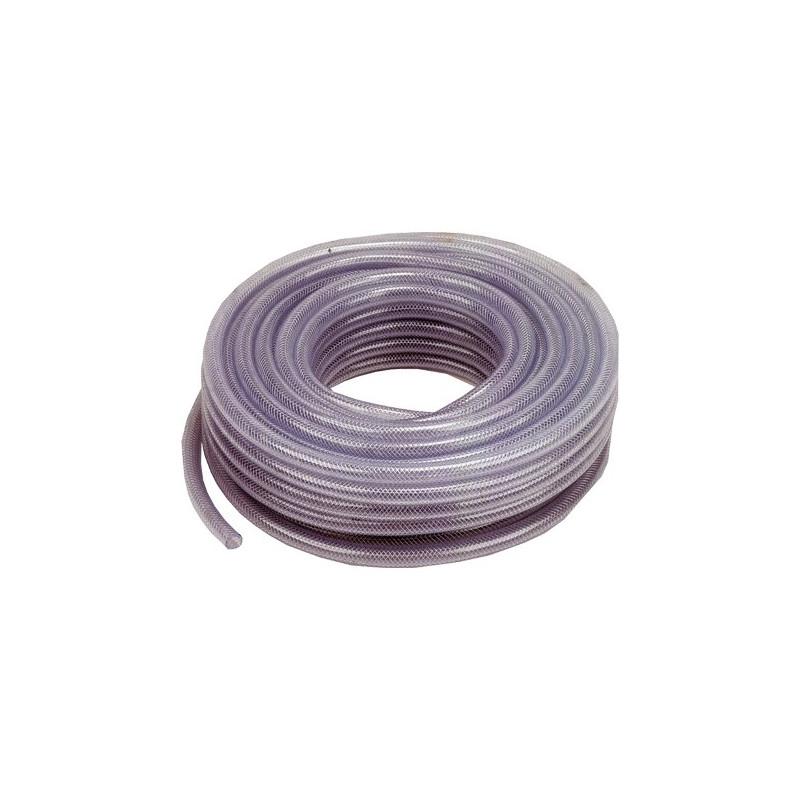 "30m braided clear hose 1/2"""