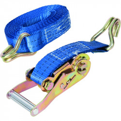 2t Ratchet Tie Down Strap 6m x 38mm