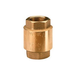 "1/2"" check valve-brass"