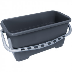 24L LEWI Grey Bucket with Large Hangers