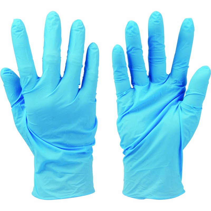 Disposable Nitrile Gloves Powder-Free 100pk large