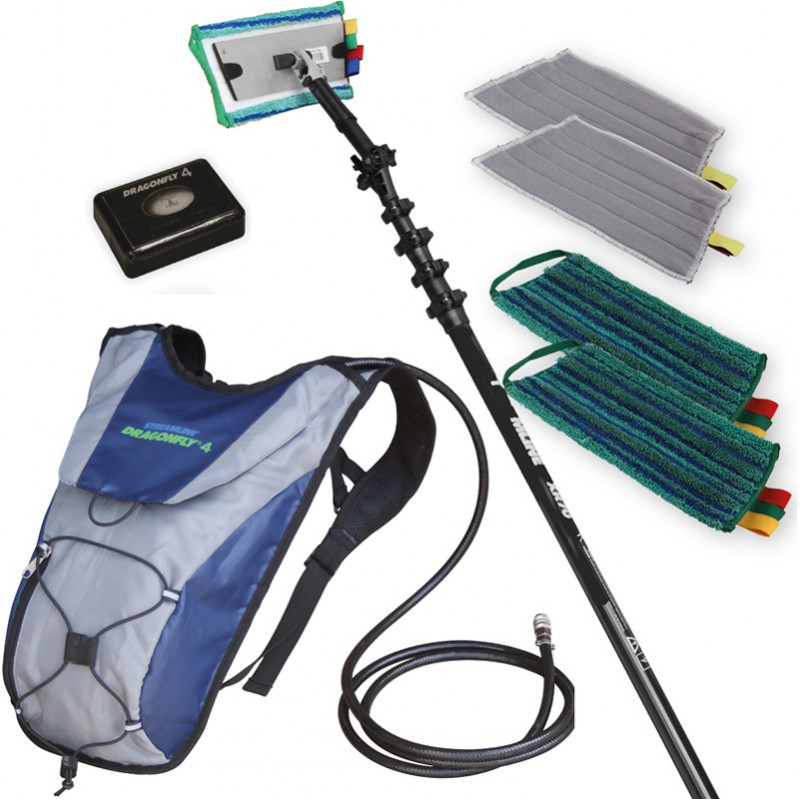 Dragonfly 4 Internal Cleaning System with 22ft pole