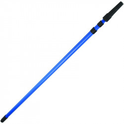 Blue extension pole 2 section 1.6 - 3.0m