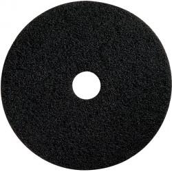 """Heavy duty black 15"""" floor pad (pack of 5)"""