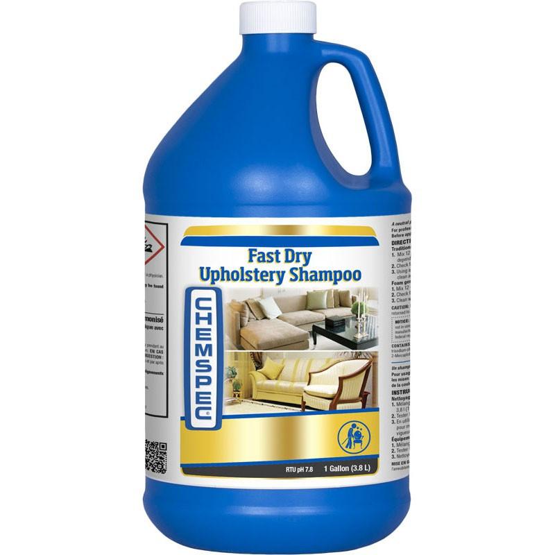 Chemspec Fast Drying Upholstery Shampoo 1 gal. / 3.8 L
