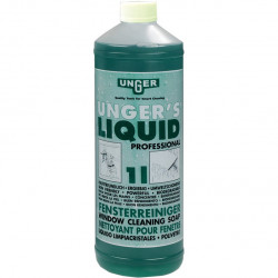 Unger liquid 1L window cleaner solution