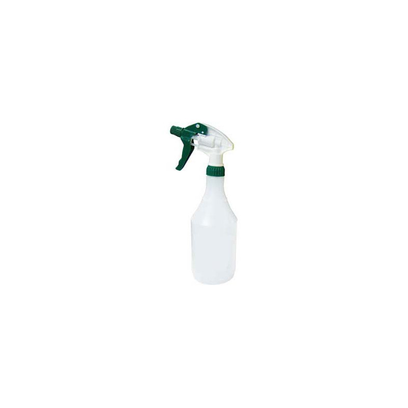 SPOTLESS Green Trigger Spray with 750ml clear bottle