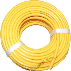 Yellow PVC Hose 5mm (8mm OD) per meter