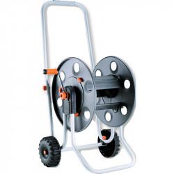 Wheeled sturdy metal hose reel