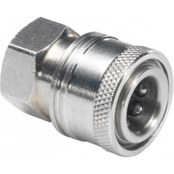 "Stainless steel Female 1/4"" Quick coupler for HP nozzles"