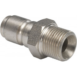 "SS Male QRC X Male thread 1/4"" for BE series"