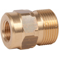 "M22mm Male x 1/4"" female thread"