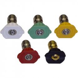 High presure nozzles - 5 Pack
