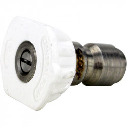 White pressure nozzle 40 degree