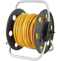 Lightweight metal reel w/ 100m of microbore hose & aquastop