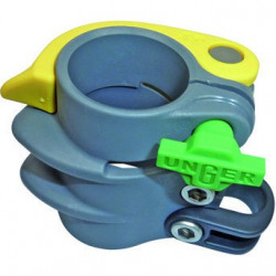 Unger HiFlo nLite 35mm Clamp complete, yellow