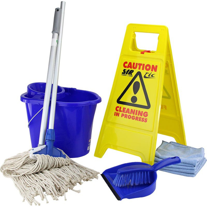 Cleaning and Socket Mop Starter Kit