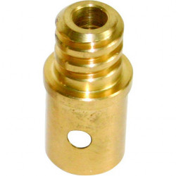 Lewi brass acme adapter