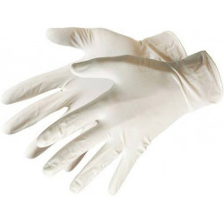 Latex Disposable Gloves 100pk