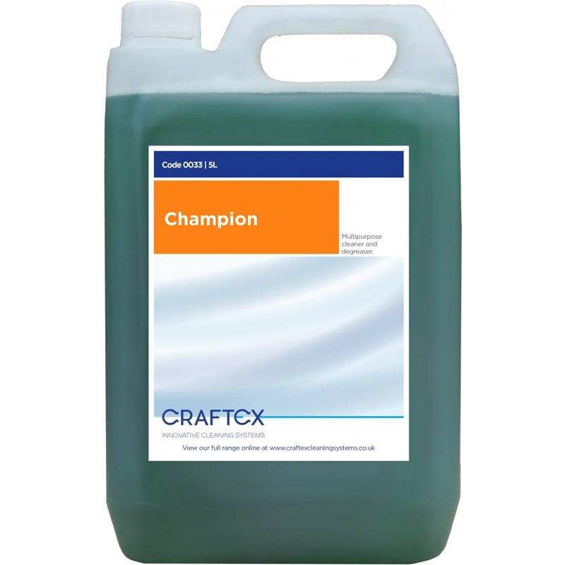 Craftex Champion multi-purpose degreaser cleaner 5L