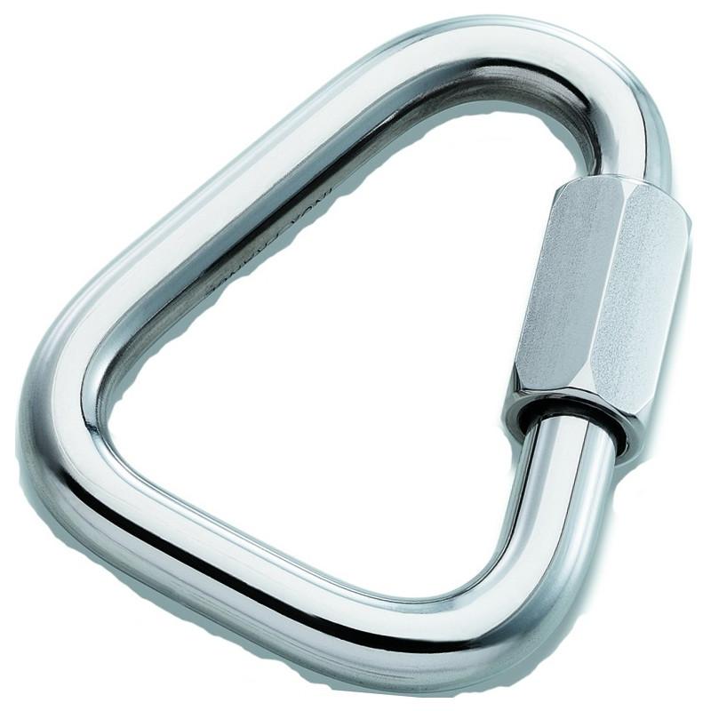 Galvanized steel Maillon delta shape 45Kn