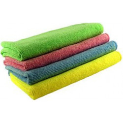 4 colours Spotless microfibre clothes - 40 X40cm