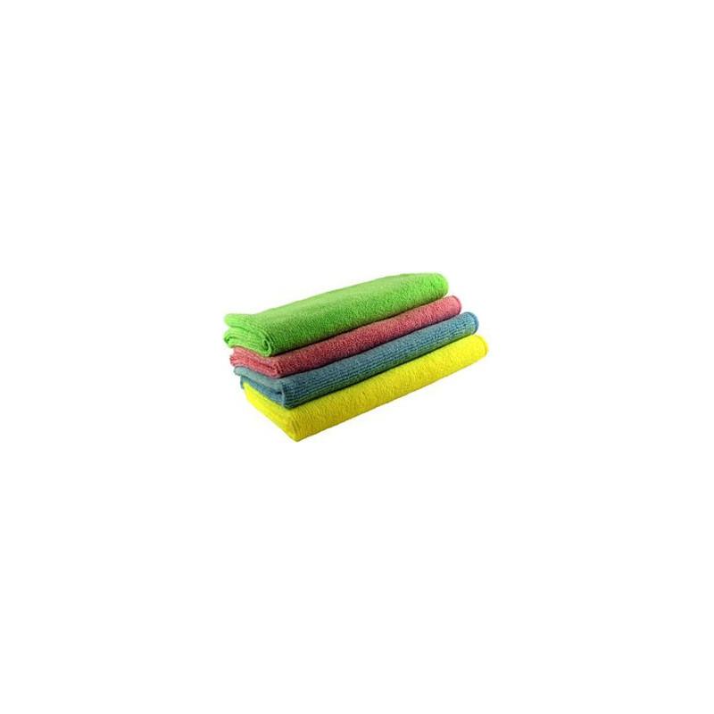 4 Colours Spotless Microfibre Cloth