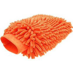 Microfibre Noodle Wash Mitt Orange