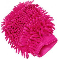 Microfibre Noodle Wash Mitt Pink