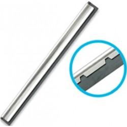 """12"""" S/Steel Channel & Hard Rubber"""