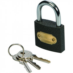 Iron Clamp padlock 38mm