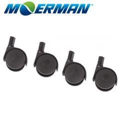 Moerman Casters for Black 22L Bucket