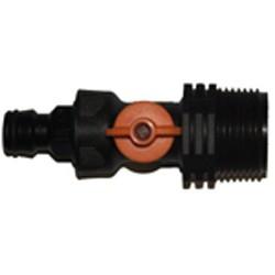 "Plastic Tank valve 1"""