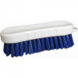 Stiff Roached Back Scrub Brush - Blue