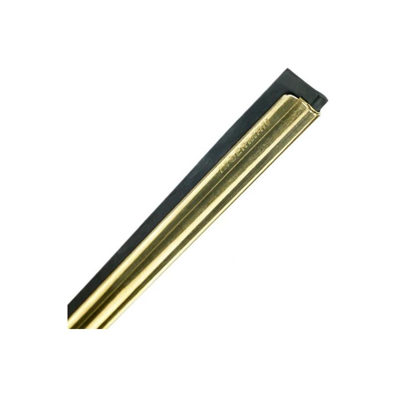 """Moerman brass channel & rubber 18""""/45cm"""