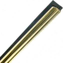 """Moerman brass channel & rubber 22""""/55cm"""