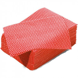Red Ocean wipe large (J-cloth type) 50x36cm - pack of 50