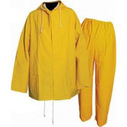 2 pce PVC Rain Suit L