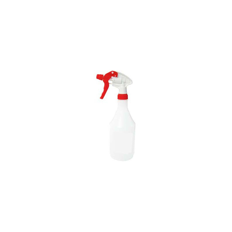 SPOTLESS Red Trigger Spray with 750ml clear bottle