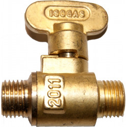 Strong brass ball valve MM 1/4""