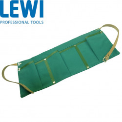 Lewi Green Canvas Apron with 3 Pockets