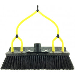"11"" Spotlite double trim windowsill brush with 4 pencil jets"