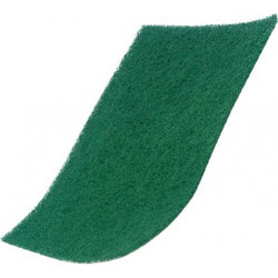 "Pack of 10 - 9 x 6"" Standard Green Scourer"
