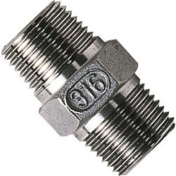 """Stainless Steel Hex Nipple 1/4"""""""